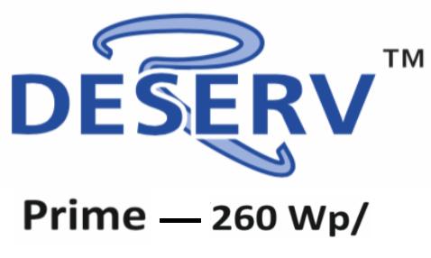 Renewsys Hi Voltage 260W:63V